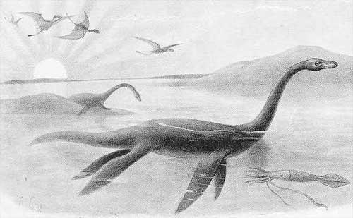 Динозавры и Мир Юрского Периода №14 - Папа-Плезиозавр
